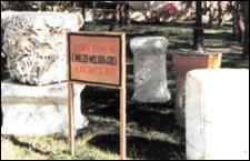 Etimesgut'da bulunan Roma dönemine ait kalıntılar